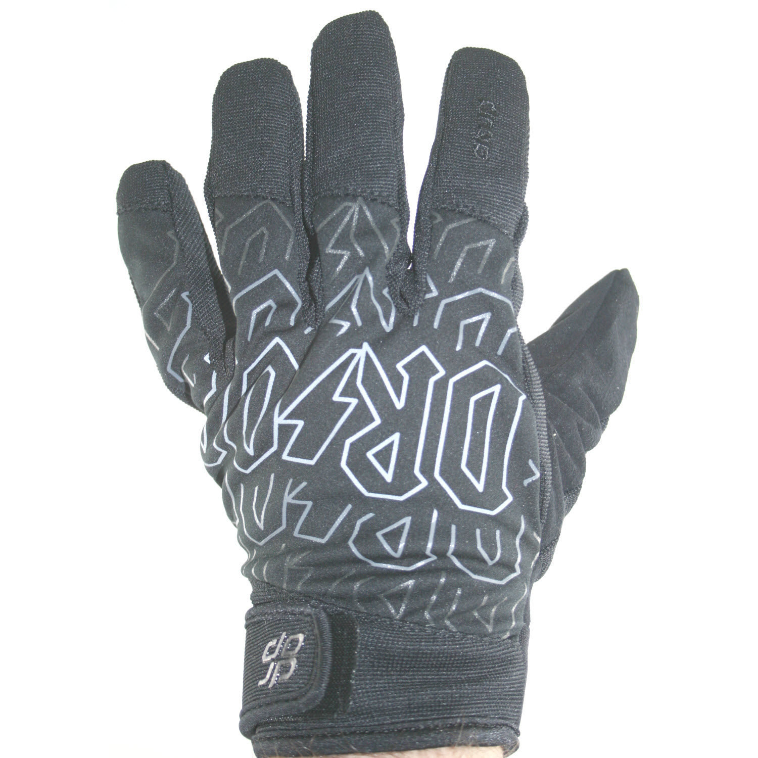 Drop 1080 Snowboard Gloves Rock On in Black